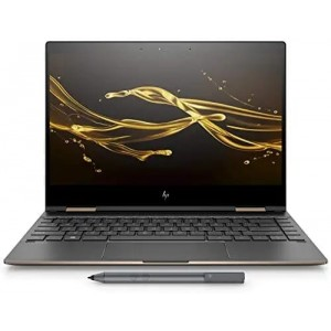 Refurbished laptops & desktops HP Spectre X360 Core I5 8TH Gen 13.3-Inch Laptop (8GB/360GB/Windows 10/Dark Ash Silver/1.26Kg), Convertible 13-Ae502Tu Part No. 3ME45PAR