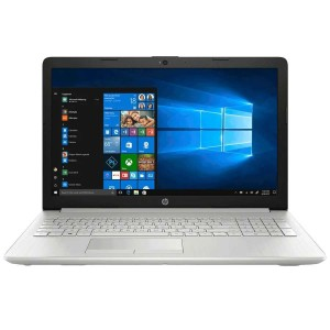 Refurbished laptops & desktops Part No. 5AY39PAR - HP 15g-dr0008tu Core i3 7th Gen Windows 10 Home Laptop (4 GB RAM, 1 TB HDD, Intel HD 620 Graphics,39.62cm, Natural Silver)
