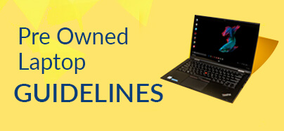 Pre Owned Laptop Guidelines